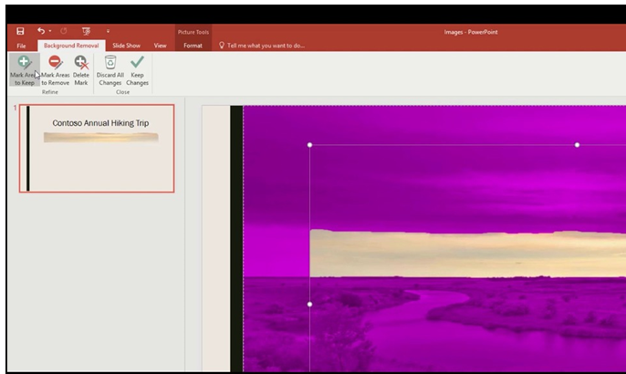 Pictures In PowerPoint Presentations – Removing Backgrounds