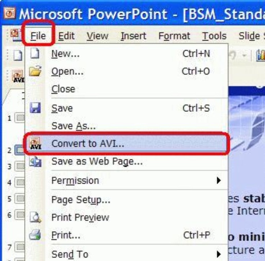 Create Video In PowerPoint – What Items Will Not Be Included